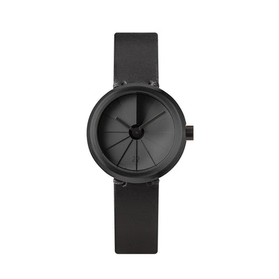 Front View of 22STUDIO 4D Concrete Watch 30mm Shadow (Watch Dial)