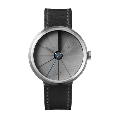 Front View of 22STUDIO 4D Concrete Watch 42mm Urban (Watch Dial)