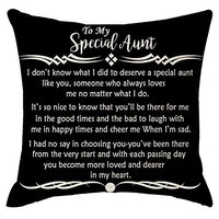 ITFRO Grandma Birthday Gift with Inspirational Words Cream Body Burlap Decorative Square Throw Pillow Cover Pillowcase for Couch 45x45cm