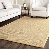 Safavieh Natural Fiber Collection NF525C Marble Sisal Area Rug (2' x 3')