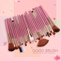 Ship from US 25pc Brushes Cosmetic Makeup Brush Blusher Eye Shadow Brushes Set Kit(Shipping About 3-5 Days)
