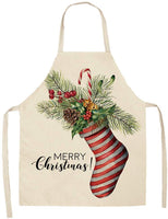 Hohaski Christmas Personality Apron Bar Restaurant Waiter Christmas Decoration, Christmas Ornaments Advent Calendar Pillow Covers Garland Tree Skirt Gift Bags DIY