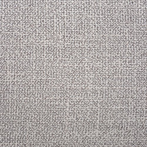 "NATUS WEAVER Soft Blended Linen Burlap Pillowcase Decorative Throw Pillow Cover Caddice Hand Feel Cushion Covers for Couch Sofa Bench, 24"" x 24"", Grey"