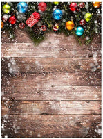 Hohaski Christmas Wedding Photography Props 3D Photo Background Cloth Presentation, Christmas Ornaments Advent Calendar Pillow Covers Garland Tree Skirt Gift Bags DIY