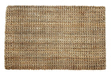 "Iron Gate -Handspun Jute Area Rug 24""x36""-Natural- Hand Woven by Skilled Artisans, 100% Jute Yarns, Thick Ribbed Construction, Reversible for Double The wear, Rug pad Recommended"