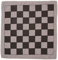 "Trademark Innovations 25"" Square Giant Checkers Game Rug"