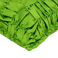 20x20 inch Luxury Clover Green Sofa Pillowcase Satin - Dreamy Clover Green