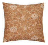 "Floral Print Premium Quality Weaved Cotton 18"" X 18"" Cushion Cover for Sofa Bed"