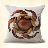 2PCS discount pillowcase for couch Mexican art sun rays cushion cover