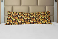 Ambesonne Abstract Body Pillow Case Cover with Zipper Decorative Accent