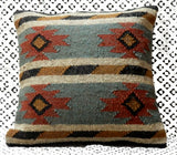 4 PC Indian Wool Jute Cushion Cover Vintage Pillow Cover Handwoven Sofa Sham 18""