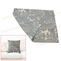 1 x Fashion Linen Square Pillow Case Cover For Home Sofa Office Decoration