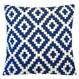 "22x22"" Navy Blue Accent Decorative Throw PILLOW COVER Sofa Couch Cushion Case US"