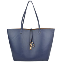 Navy blue/khaki 2 Piece Reversible Tote