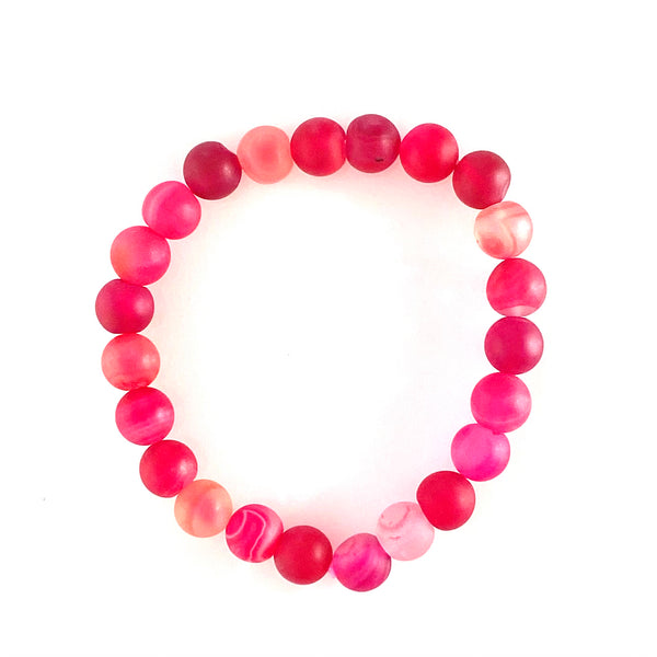 Fuchsia Natural Stone Stretch