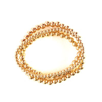 3 piece Gold Stretch Bracelet