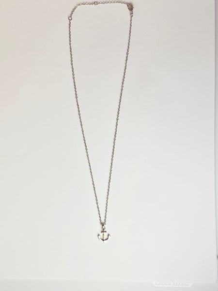 Petite Anchor Charm Necklace