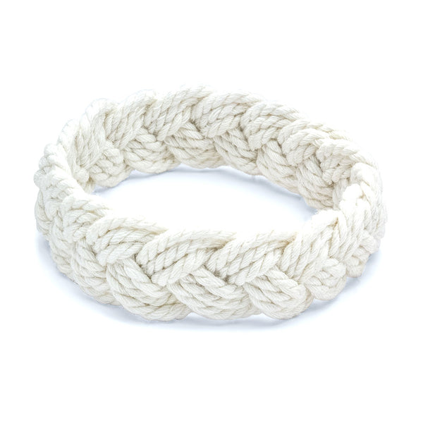 Classic Sailor Bracelet in White Rope