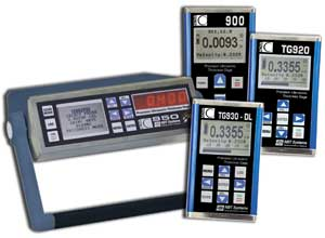 The NOVA 900 Series are precision ultrasonic thickness gauges offering higher accuracy than the general purpose gauges.
