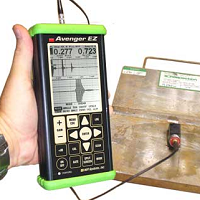 NDT Systems - Avenger EZ - Ultrasonic Flaw Detector - Advanced NDT Ltd