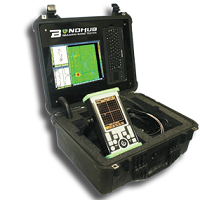 Advanced NDT Ltd & NDT Systems Inc. are proud to introduce one of the world's first multi-mode imaging bond tester with fully automatic C-scan imaging capability for testing the integrity of composites and adhesively bonded structures. Image in Resonance, Pitch-Catch and MIA modes using any of our manual or automatic scanners.