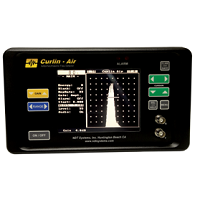 Curlin Air is a non-contact, through transmission, air-coupled ultrasonic flaw detector. With an operating frequency of 50kHz, very low compared to conventional ultrasonic testing, the system is able to detect anomalies in the sound path through even the most attenuating materials.
