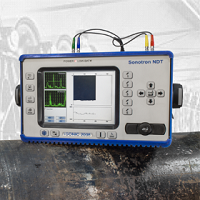 Sonotron ISonic 2008 - Ultrasonic Flaw Detector - Advanced NDT Ltd