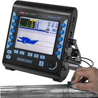 Sonotron Isonic 3510 - Ultrasonic Phased Array Flaw Detector - Advanced NDT Ltd
