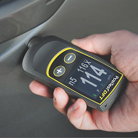 Digital Coating Thickness Gauge measures coatings on ALL Metal substrates. Two models available the Ferrous and Combo.
