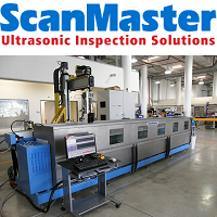 ScanMaster ultrasonic immersion systems are designed for high throughput, multi shift operation