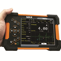 SIUI Smartor is a combination of ultrasonic testing (UT) and ultrasonic thickness measurement (TG).  Advanced NDT