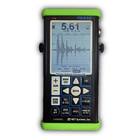 NOVA TG410 is a precision ultrasonic thickness gauge with a A-Scan (oscilloscope type) display.
