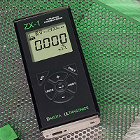 The Dakota ZX1 & ZX2 are basic fixed velocity ultrasonic thickness gauges that require no special training to operate.