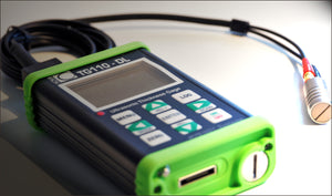 Nova TG110-DL General Purpose Ultrasonic Thickness Gauge and TG506 Standard Ultrasonic Transducer  - Advanced NDT Limited