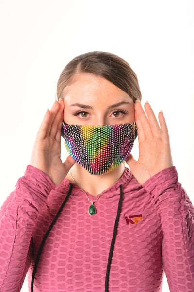 Rainbow Royalty Mask