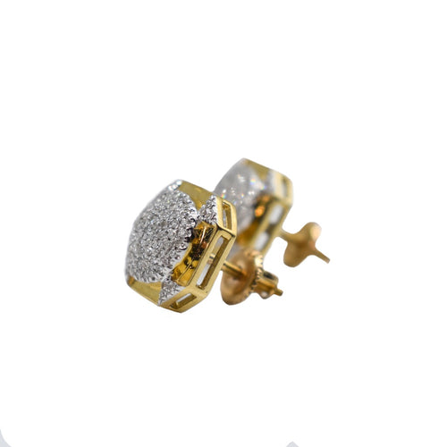 10K Gold and Diamond Earrings with 0.32ct of Diamonds