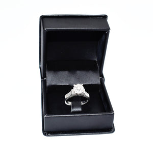 14K Gold Engagement Ring with 1.15ct Diamond