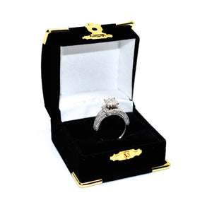 14K Gold Engagement Ring with 1.50ct Diamonds