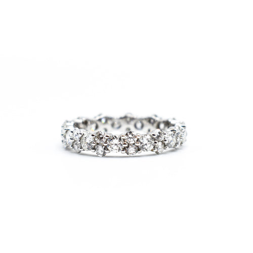 Platinum Eternity Band with 2.50ct of Round Diamonds
