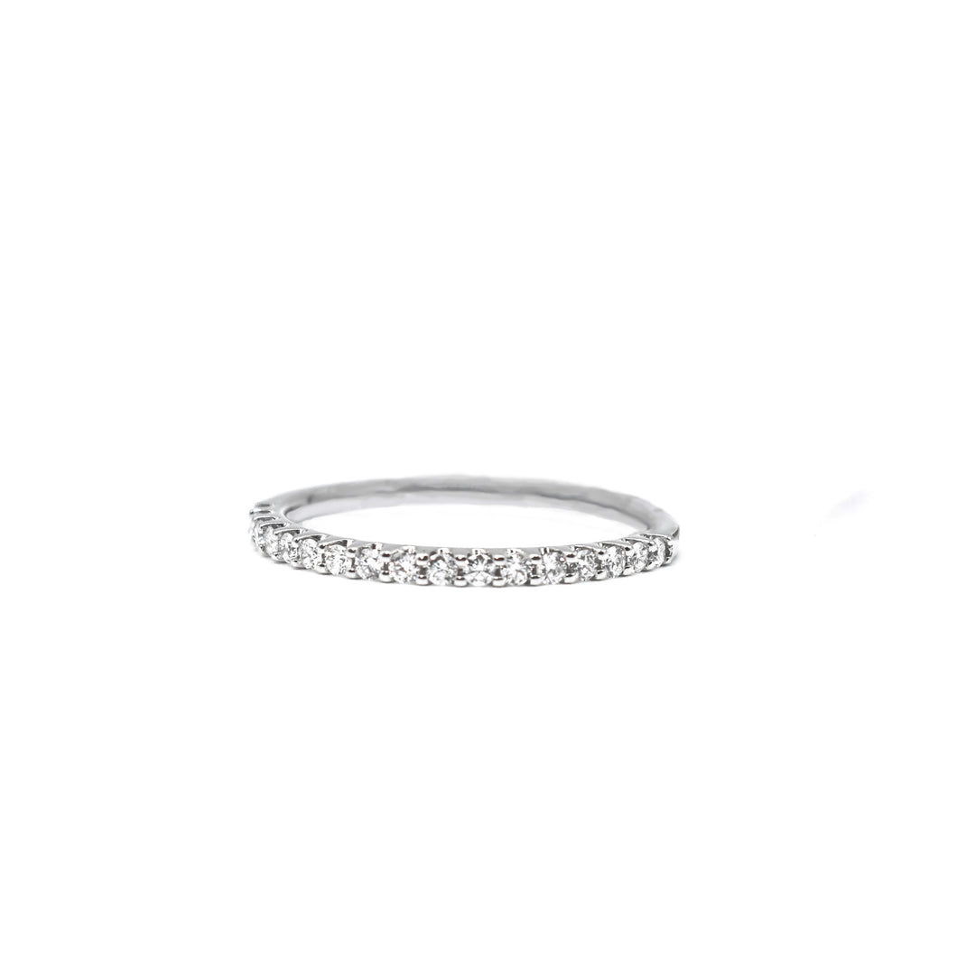 14K Gold Women's Diamond Wedding Band with 0.25ct of Diamonds