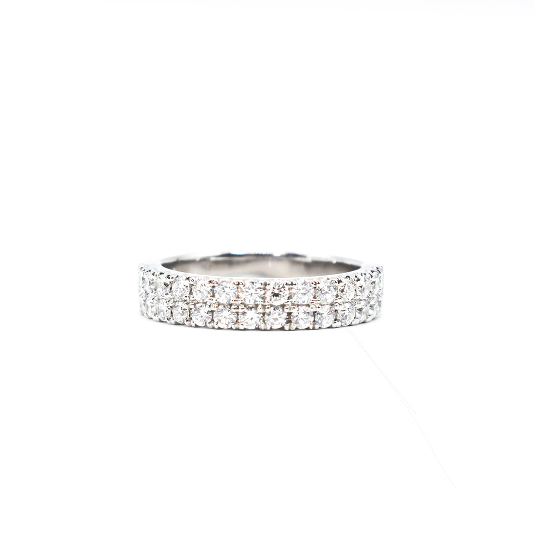 14K Gold and Diamond Band totaling 1.15ct of Diamonds