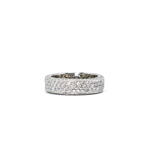 Platinum Eternity Band with 2.70ct of Diamonds