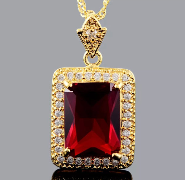 Ruby Luxe Necklace