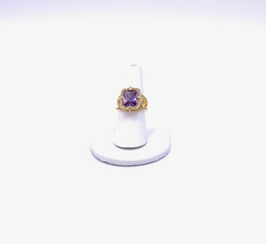 Queen Amethyst Cocktail Ring