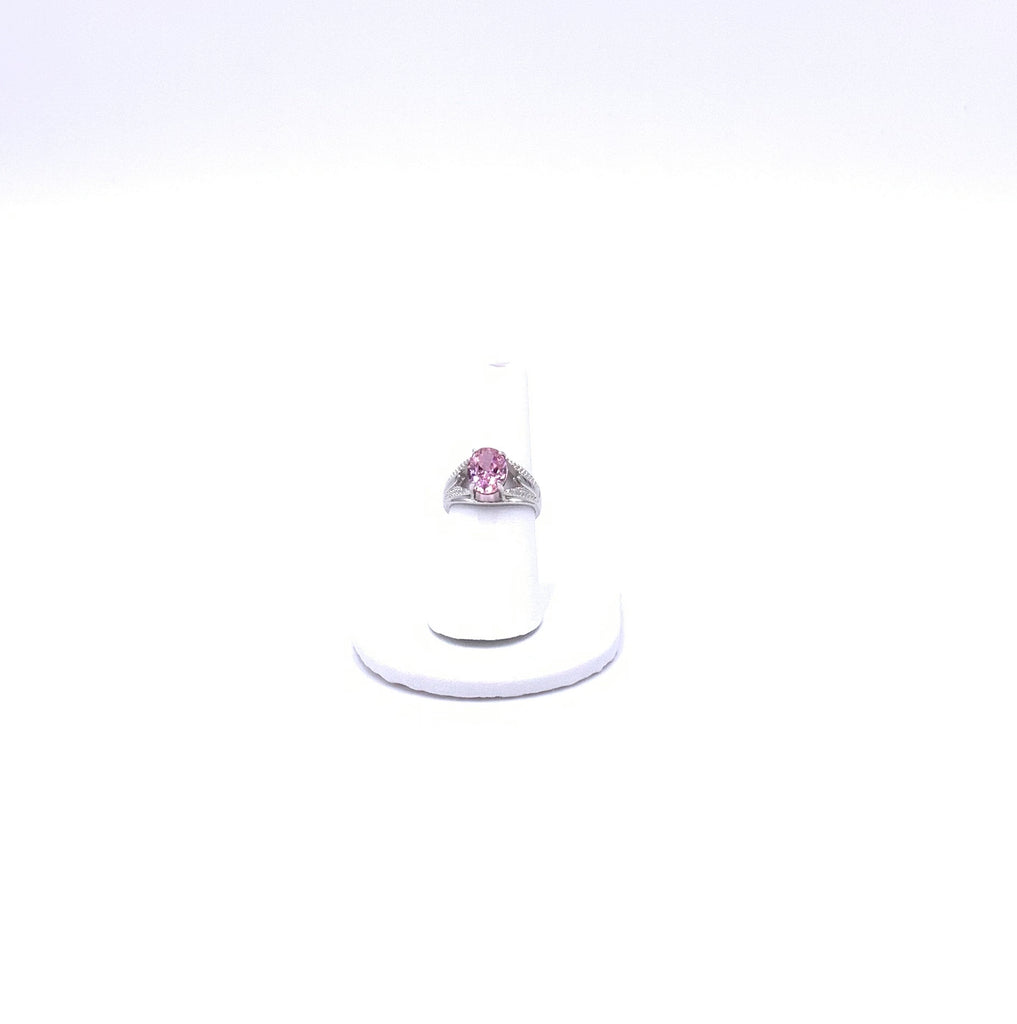 Pink Sparkle Cocktail Ring