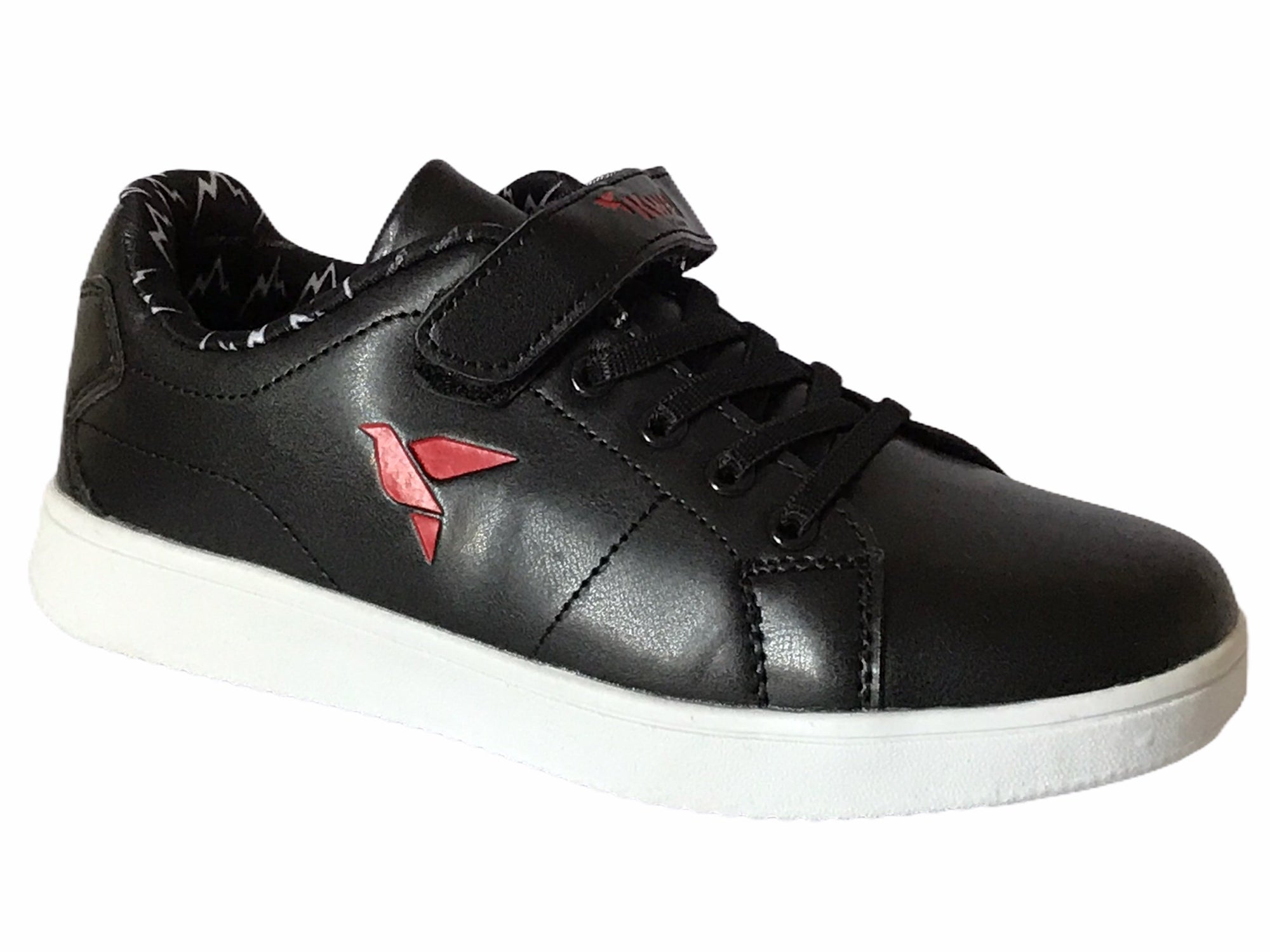 Kwell Black Trainers Shoes