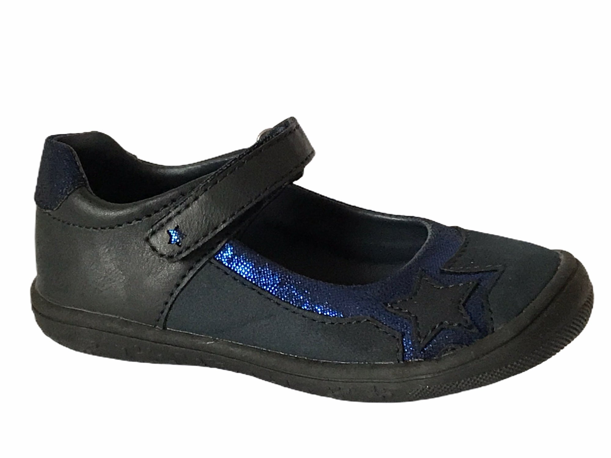 Bleufornce Girl Black & Blue Shoes