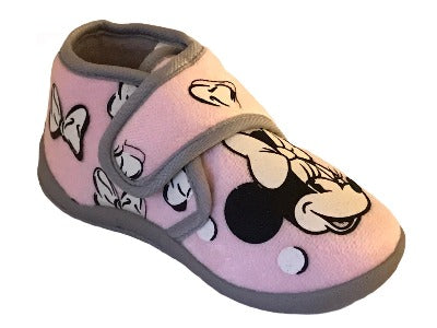 MINNIE MOUSE KIDS HOUSE SLIPPERS (GLOWS IN THE DARK)