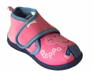 Girls' Peppa Pig Character Toddler & little Kids House Slippers (Glows in the dark)