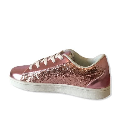 Gemo Rose & Pink  Girl Trainers - Glo Selections Kids Shoes